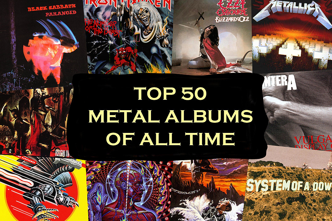 Here Are The Top 50 Metal Albums Of The Past 50 Years According To